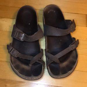 Birkenstock Mayari vegan leather sandal